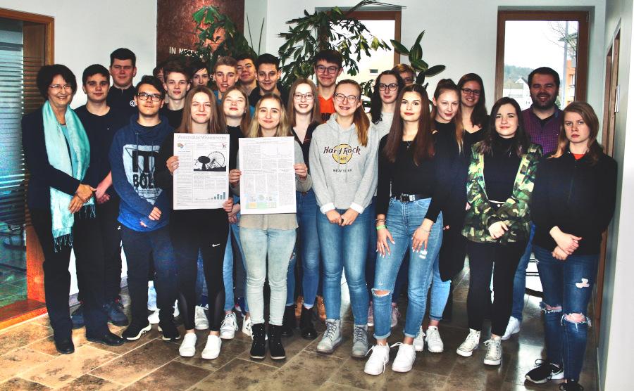 """""""Neuer Trend Heimat"""":  Gymnasiasten des Johanneums erfolgreich beim Schülerwettbewerb zur politischen Bildung 2019"""