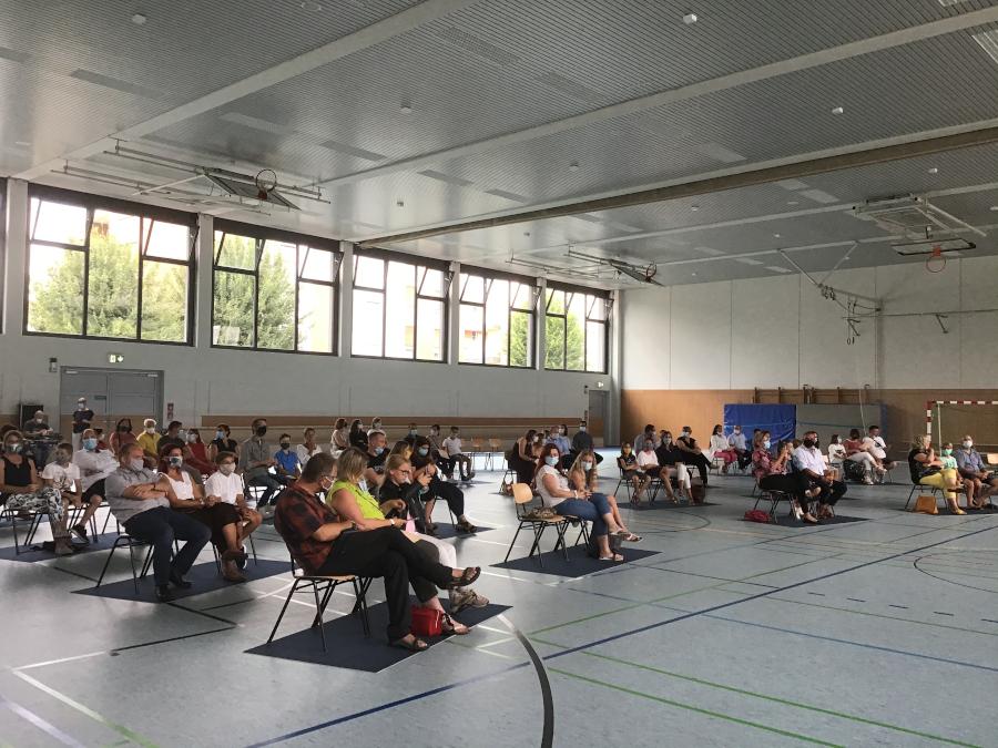 206 neue Schülerinnen und Schüler am Johanneum Gymnasium